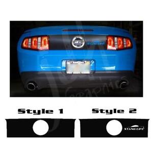 Ford Mustang Trunk Overlay Lid Vinyl Decal Sticker Gt 2010 2011 2012 2013 2014