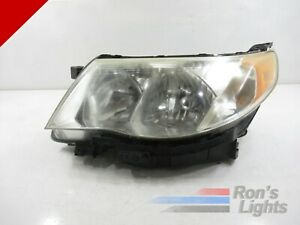 Oem 2010 2013 Subaru Forester Halogen Headlight Left lh driver Genuine