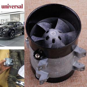 12v Electric Turbine Power Auto Car 16 5a Turbo Charger Air Intake Fan