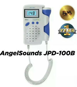 Angelsounds Fetal Doppler Baby Heart Monitor Backlight Lcd Jpd100b