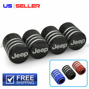Valve Stem Caps Wheel Tire For Jeep Laser Etched Aluminum Us Seller Vl23 Vl24