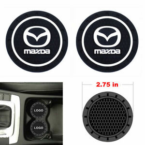 Coaster 2pc 2 75 Silicone Car Cup Holder Auto Insert For Mazda Us Seller
