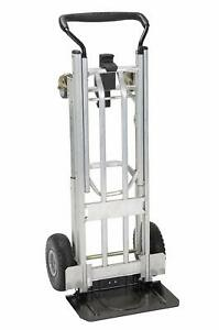 Moving Equipment Hand Truck Dolly Furniture Cart 1000lb Appliance 4 Wheel 4 In 1