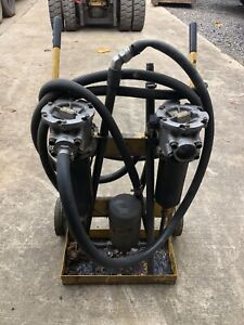 Hydraulic Filter System 3 4 Hp 115v 10 Gpm Includes Wands Cart Hoses