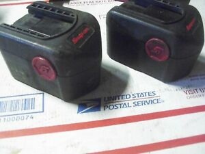 2 Snap On Ctb4147 Bad Batteries For Rebuild Rebuilders Need Rebuild