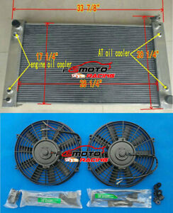 Aluminum Radiator Fans For Chevy C K 1500 2500 3500 Truck 5 0l 5 7l 1988 1997 At