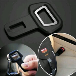 1x Portable Car Seat Belt Buckle Insert Warning Alarm Cancel Stopper