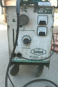 Linde union Carbide Wire Feed Welder Model V1 253 250 Amps Complete