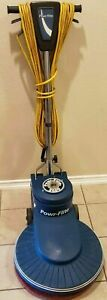 Powr flite 20 2000 Rpm High Speed Floor Buffer With Pad Excellent Working Cond