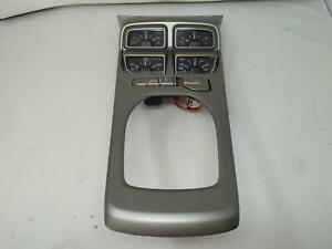 12 13 14 15 Camaro Zl1 Automatic Shifter Trim Console Auxiliary Gauges 22901377