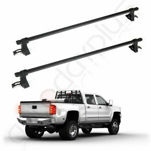 54 Universal Roof Rack Cross Bars Luggage For 4 Door Suv Truck Jeep Aluminum