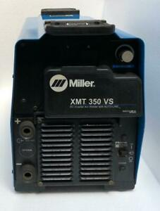 Miller Xmt 350 Vs Dc Inverter Arc Welder With Auto line 208 575v for Parts 2