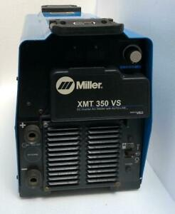 Miller Xmt 350 Vs Dc Inverter Arc Welder With Auto line 208 575v for Parts 3