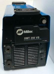 Miller Xmt 350 Vs Dc Inverter Arc Welder With Auto line 208 575v for Parts 5