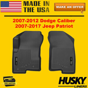 Husky Liners Weatherbeater Front Floor Liners Mats For 2007 2017 Jeep Patriot