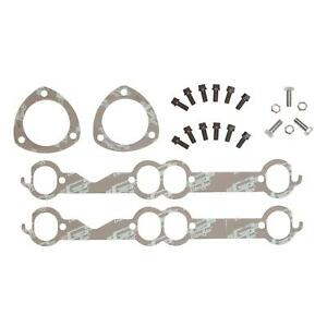 Mr Gasket 7652g Header Install Kit Small Block Chevy Oval Ports