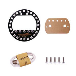Microbit Halo Programmable Expansion Board Voice Control Led For Arduino Kit