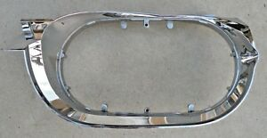 Ford Thunderbird Front Lh Left Headlight Chrome Lens Bezel Trim 1961 1963 61 63