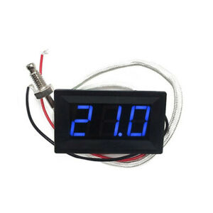 5pcs Xh b310 Digital Tube Blue Led Display Thermometer 12v Temperature Meter K t