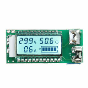 5pcs 18650 26650 Lithium Li ion Battery Capacity Tester Lcd Meter Voltage Curren