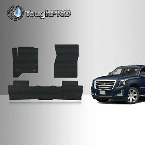 Toughpro Floor Mats Black For Cadillac Escalade Bucket All Weather 2015 2020