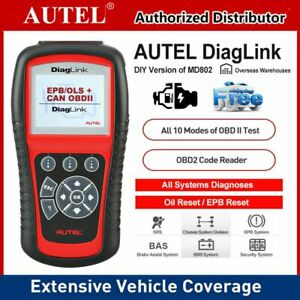 All Systems Obd2 Car Diagnostic Tool Epb Oil Reset Autel Diaglink Maxidiag Elite
