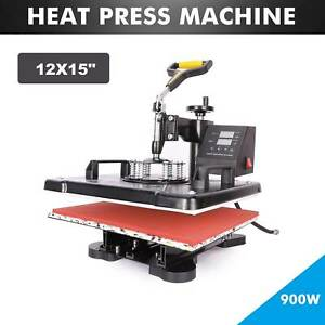 Digital Sublimation Transfer Heat Press Machine For Diy T Shirt Mat 12x15 Inch