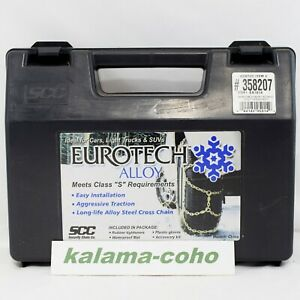 Eurotech Costco Tire Snow Chains Chains 358207 Ea 1614