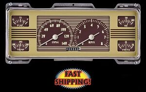 Classic Instruments Fc40oe 1940 Ford Direct Fit Oe Style Gauge Package