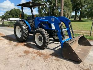 New Holland Tn75 Tractor Loader