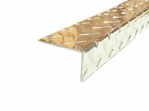 Aluminum Diamond Plate Angle 062 X 1 5 X 2 5 X 48 In 3003 Uaac 10pcs
