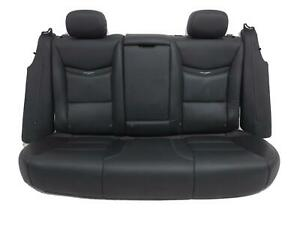 Cadillac Xts Black Leather Rear Seat 2013 2014 2015 2016 2017 2018 2019