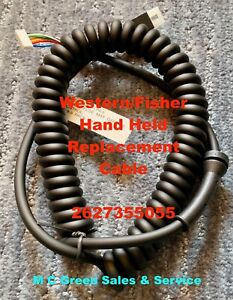 Western Cab Command Snow Plow 6 Pin Straight Blade Handheld Controller Cord