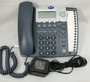 At t 984 16 Buttons And 4 line Small Business System Phones Att Wired Telephone