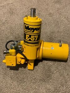 Meyer E 60h Fully Refurbished Snow Plow Pump wrong Sticker