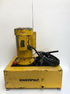 Enerpac Electric Hydraulic Pump Power Pack 700 Bar 10 000 Psi 230v