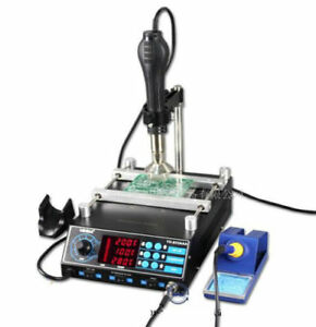 1270w Bga Smd Preheating Preheater Soldering Iron Rework Station Hot Air Gun