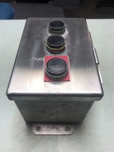 Food Equipment Push button Hoffman Stainless Industrial Control zb2 be102 101