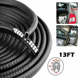 13 Feet Car Rubber Seal Trim Molding Auto Door Edge Lock Protector Weather Strip