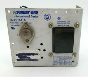 Power One Hc24 2 4 a Linear Power Supply