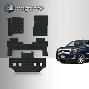Toughpro Floor Mats 3rd Row Black For Cadillac Escalade Esv Bucket 2015 2020
