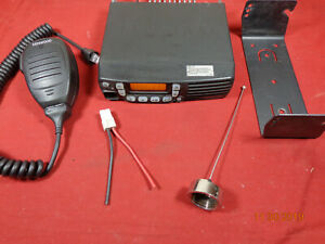 Kenwood Tk 8160h k Tk8160 Mobile Radio Uhf 450 490 45watt 128ch Complete Package