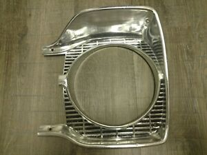 1965 Plymouth B Body L h Headlight Bezel Satellite Belvedere