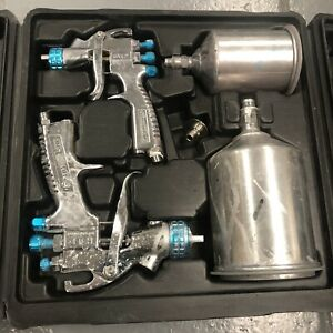 Devilbiss 802342 Startingline Hvlp Gravity Spray Gun Kit Ship