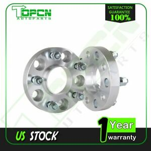 2x 1 5x4 75 5x120 65 7 16 Hub Wheel Spacers For 1962 1981 Oldsmobile Cutlass
