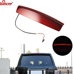 3rd Third Brake Light For 02 12 Land Rover Range Rover L322 High Mounted Stop Us