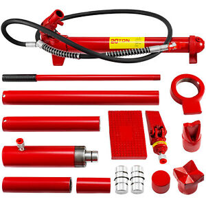 20 Ton Hydraulic Jack Body Frame Porta Power Repair Kit Auto Shop Tool Lift Ram