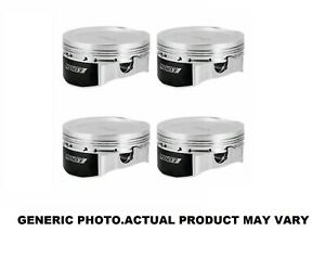Manley 100 Mm Std Stroke Pistons 86 5 Mm Bore For 95 99 Mitsubishi 4g64 4g63