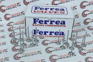 Ferrea Intake Exhaust Valves 5000 Series For 01 08 Acura Rsx 2 0l Dohc V Tec