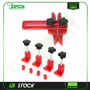 Dual Cam Clamp Camshaft Timing Sprocket Gear Locking Tool Kit Set 5pcs